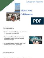 Educar en Positivo 1ra Clase