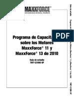 Programa de Capacitación Sobre Los Motores MaxxForce 11 y MaxxForce 13 de 2010