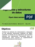 Open Class Algoritmos Semana 1