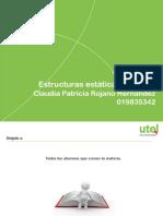OC 1 Estructuras Estáticas de Datos CPRH