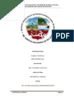 Informe de Arbol de Fallas