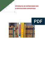 Manual de Ortograifa de Expresiones