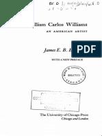 William Carlos Williams_ An American Artis - James E. B. Breslin.pdf