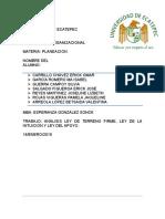 Guerra_s_análisis_ley Del Terreno Firme, Ley de La Intuición, Ley Del Apoyo_d.o._une.