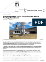 Inside the Conservative Takeover of Vermont's Coolidge Foundation _ Politics _ Seven Days _ Vermont's Independent Voice