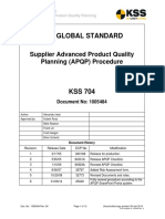 Supplier APQP Procedure
