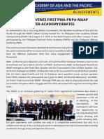Maap Convenes First Pma Pnpa Maap Inter Academy Debates