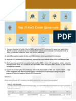 Top-21 AWS Exam Questions