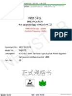 NS107S RGB LED, APA107 upgrade