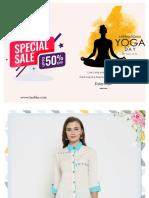 Laabha Latest Offer on Yoga Day