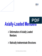 Lecture-8 Axially Loaded Members