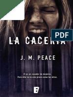 Agente Sammi Willis 01 - La caceria - J.M. Peace.epub