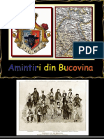 Amintiri Din Bucovina
