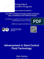 Advancement in Sand Control Fluid Technology