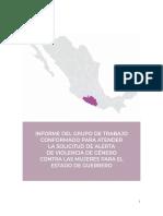 Informe Guerrero Agravio Comparado Mayo 2019