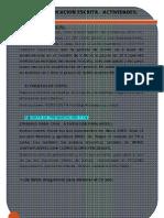 Ejercicios Comunicacion Escrita PLANTILLA