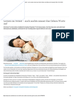Lernen Im Schlaf – Auch Nachts Nimmt Das Gehirn Worte Auf _ Wissen & Umwelt _ DW _ 31.01.2019