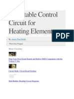 Adjustable Control Circuit for Heating.docx