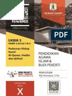 UKBM 5 Sumber Hukum Islam (PAI SMA Kelas X) - Rijki Ramdani [SMAN 1 BANDUNG]