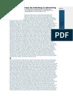 Dictionar de Termeni Advertising&Marketing