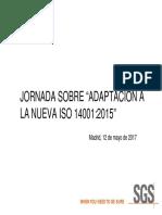 Jornada Mayo 2017 Adaptacion Iso 14001_2015