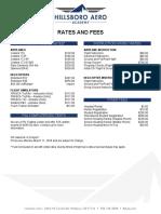 Hillsboro Aero Academy Cost