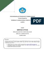Tugas 1.3. Lkpd Erfina Utina Ppg 2019