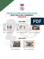 Segells Personalitzats de Sant Feliu de Llobregat 2009-2018
