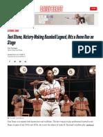 Toni Stone History Making Baseball Legend
