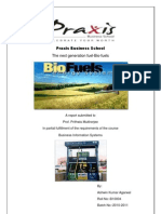 The Next Generation Fuel-Biofuels