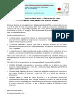 Declaracion Institucinal Sobre Detencion Del SG en Chad