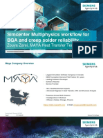 5_MAYA_Simcenter Multiphysics Workflow for BGA and Creep Solder Reliability