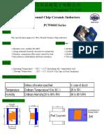 Wire Wound Chip Ceramic Inductors 0603