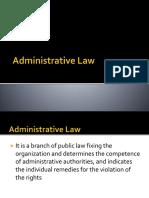 Administrative Prelims