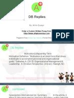 DB Replies