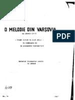 O Melodie Din Varsovia (Mic1)