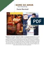 Paula Marshall - Em busca do amor (Grds Romances Historicos 09).doc