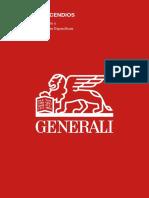 Condicionado General Incendios Generali