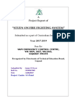 0-Study on Fire Fighting System