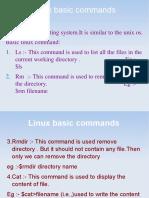 Linux basics cmd