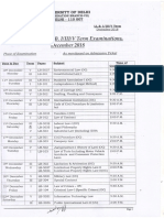 29112018_LL.B. I III v Semester Date Sheet