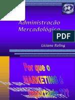 1 - Administração MIX de MKT - Introdução Ao Tema