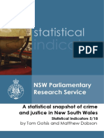A Statistical Snapshot of Crime and Justice in NSW