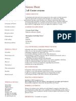Student Call Center Resume Template.pdf