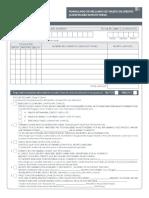 formulario modelo