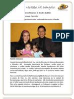 Informe Misionero Bucaramanga Octubre de 2010