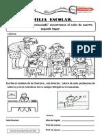 Ficha de Personal. Familia Escolar
