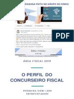 Perfil Do Concurseiro Fiscal 2019