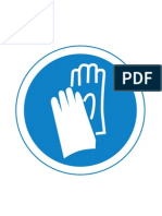 Signs Mustdo Safety Gloves