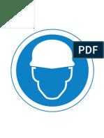 Signs Mustdo Safety Helmet